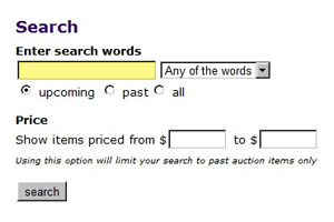 Find equipment and vehicles - picture of search process