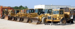 Loaders in November 17 construction equipment auction