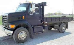 1998 Ford Louisville L8501 dump truck