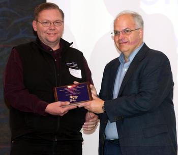 McKee receives award