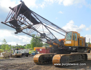 1974 Lima 700-HC crawler lattice boom crane