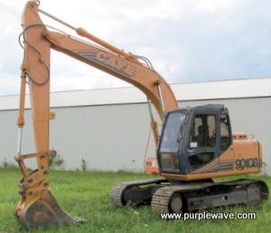 1995 Case 9010B excavator