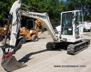 2010 Terex TC50 compact excavator