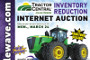 Tractor Central inventory reduction auction