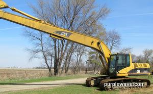 2003 Caterpillar 325CL Long Reach excavator