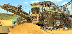 Universal 880 Super G 4300 portable jaw/roll crushing plant