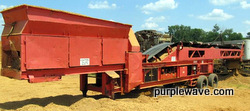 Finlay 390 hydrascreen 5' x 12' two-deck portable screening plant