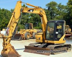 2004 Caterpillar 308C CR mini excavator