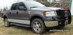 2008 Ford F150 XLT SuperCrew pickup truck