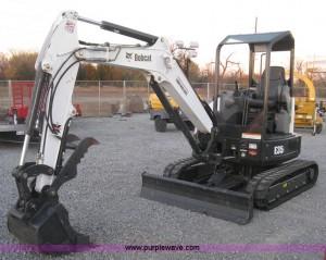 2015 Bobcat E35i ZTS compact excavator