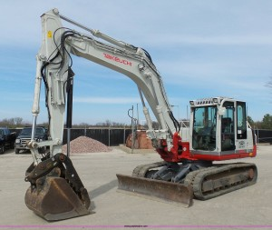 2012 Takeuchi TB1140 compact excavator
